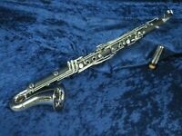 Selmer 125? USA Plastic Alto Clarinet Ser#P0015685 Plays Great with a Mouthpiece