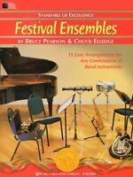 STANDARD OF EXCELLENCE FESTIVAL ENSEMBLES MUSIC BOOK 1 FOR CLARINET NEW ON SALE