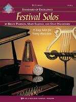 STANDARD OF EXCELLENCE FESTIVAL SOLOS MUSIC BOOK 1 FOR CLARINET NEW ON SALE