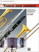 Yamaha Band Ensembles MUSIC Book 1 FOR CLARINET & BASS CLARINET NEW ON SALE