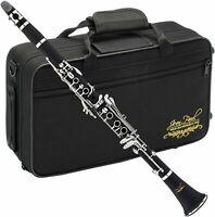 Jean Paul Wind Instruments Clarinet in Carrying Case OB JOINT IS BROKEN CL-700CM