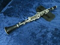 Selmer Depose Series 9 Wood Bb Clarinet Ser#S8490 Plays with Older Pads