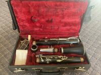 Vintage 1970 Buffet Crampon Evette Clarinet with Case---F27