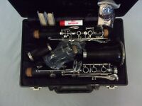 QUALITY! BUFFET CRAMPON EVETTE WOOD CLARINET + MPIECE + CASE + ALL THE EXTRAS!