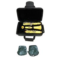 New Merano Student BB Yellow Clarinet,Case,Mouth Piece; Reed,Cap;Screwdriver,Bag