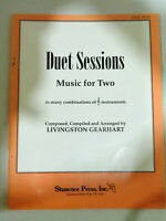Duet Sessions Music for Two in Many Combinations of Instruments Sheet Music Book