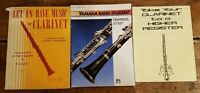 Lot of Clarinet Music Yamaha Band Student Book Let us have music for Clarinet