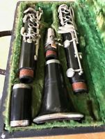 A. Fontaine Clarinet - Band Music Jazz Songs includes new reed Vintage Via Paris