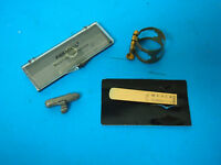 MARCA CLARINET and SAXOPHONE REEDS 2 1/2 Strength & SAX PARTS LOT ASSORTED