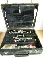 Selmer BUNDY 577 CLARINET Black Resonite w/Case Incomplete Replacement Parts USA