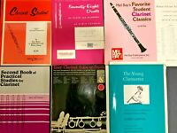 Lot Clarinet Student Books Some with Inserts Classics Solos Duets Intermediate
