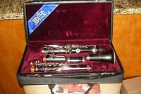 Jupiter JCL 931 Clarinet with Original Case + Grenadilla Wood=>Used & VERY NICE
