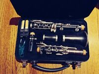 Yamaha YCL-450NM Intermediate Bb Wood Clarinet - Used for 1 year/ MINT CONDITION