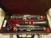 JCL 710 student clarinet, excellent condition used for 2 years purchased $900+