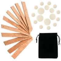 27Pcs Bb Clarinet Neck Joint Cork Pads Set Musical Instruments Replacement Kits