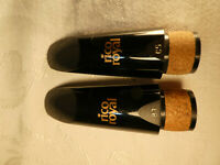 RICO ROYAL C5 & B7 Bb CLAR. MPC'S PRICE IS 4 BOTH (EARLY 2000's) FREE SHIPPING