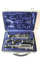 Vintage Bundy Resonite Clarinet By The Selmer Company With Case