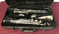 Yamaha 221 II Bass Clarinet Excellent Condition with Case & Yamaha 4c MPC 🔥😎