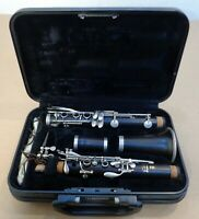 Nice Yamaha Advantage Clarinet YCL-400AD Excellent Little Use Japan W/ Hard Case