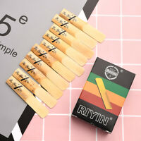 10 Piece/Set High Quality Bamboo Reeds Suitable for Traditional bB Clarinet US