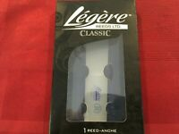LEGERE #1 3/4 Bb CONTRABASS CLARINET REED CLASSIC SERIES #1.75