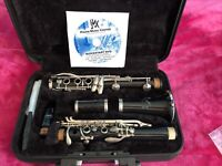 Yamaha YCL-250 Bb Clarinet with Case Musical Instrument