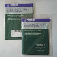 YAMAHA Cleaning Swab M CLSM2 Set of 2 Clarinet Alto Clarinet Tube from JAPAN