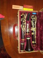 Buffet Crampon Clarinet Paris with case. Serial number 40259. One owner.