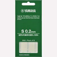 Yamaha Clarinet Saxophone Mouthpiece Patch S Size 0.2mm 6 pieces MPPA3S2 F/S New