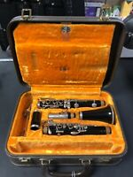 Unbranded German Clarinet Used with N4 French Mouthpiece, Hardshell Case