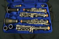 VINTAGE BUFFET  MODEL S-1 PROFESSIONAL Bb CLARINET & RIDENOUR RCP 575A