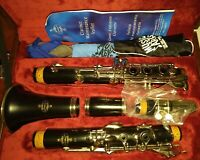 Crampon & Cie a Paris Buffet Clarinet E11 + In Case + Extras Cleaned