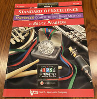 Standard of Excellence ENHANCED Comprehensive Band Method Bb Clarinet Book 1