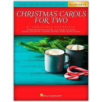 Christmas Carols for Two Clarinets (Easy Instrumental Duets) Songbook