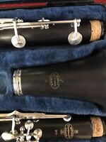 Buffet Crampon a Paris B12 Student Clarinet with Case - Made in Germany New Pads