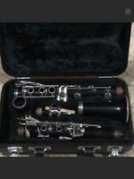 Yamaha Student Clarinet Made In Japan Used In Working Condition School Band