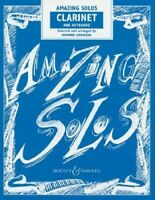 *Amazing Solos for Clarinet & Keyboard - Howard Harrison Sheet Music Book NEW