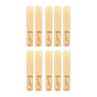 Normal Level G Clarinet Reeds Strength 2.5 for Beginners, 10pcs/ Box X3X0