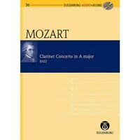 Clarinet Concerto in A Major KV 622 Audio plus Score by Wolfgang Amadeus Mozart