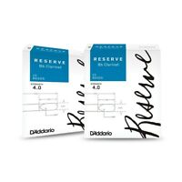 D'Addario Woodwinds Reserve Bb Clarinet Reeds 10-Pack, 2 Box Special 4