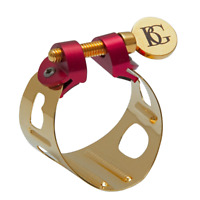 BG France DUO ligature 24K Gold plated for Alto Sax and Bb Clarinet  LD1