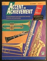 Alfred Accent on Achievement Book 1 Clarinet Bb - (PB, 1997) Book Only, O'Reilly