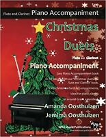 Christmas Duets for Flute and Clarinet - Piano Accompaniment: Easy piano acco...