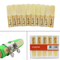 Lade 10pcs Pieces Reed Strength 2.5 2-1/2 Reed Bamboo for bB Clarinet N3Y0