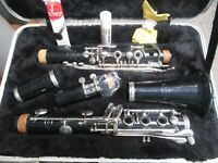 VITO RESO TONE CLARINET(USA)- SANITIZED, SERVICED,  PLAYS GREAT- By The Band Guy