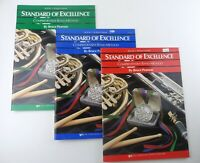 Standard of Excellence Books 1, 2, 3 - Bb Bass Clarinet W21CLB W22CLB W23CLB