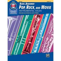 BELWIN Accent on Achievement Pop, Rock, and Movie Solos Clarinet Book & CD