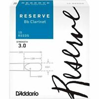 Reserve Bb Clarinet Reeds, 3, 10-Pack