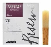 Reserve Classic Bb Clarinet Reeds, 4, 10-Pack