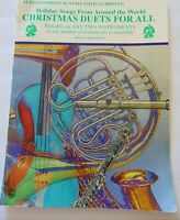 Vintage Christmas Duets For all Alto Sax Clarinet William Ryder 24 pages Carols